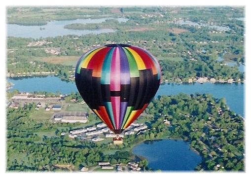 Fenton Michigan Local Attractions Balloon Quest Inc Capt Phogg Balloon Rides