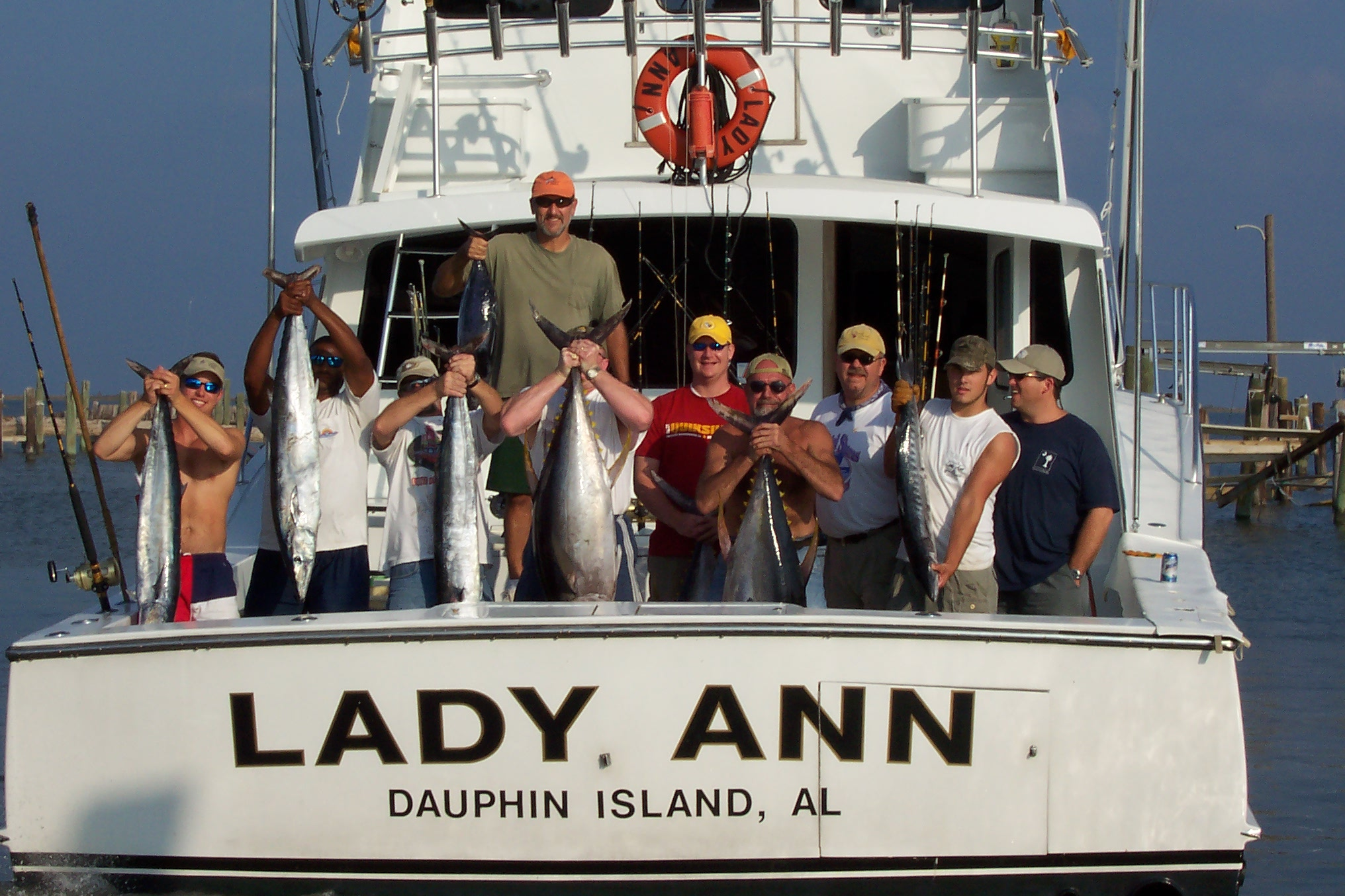 Dauphin Island Alabama Local Attractions Deep Sea Fishing