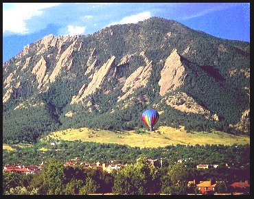 boulder colorado local attractions hot air balloon rides
